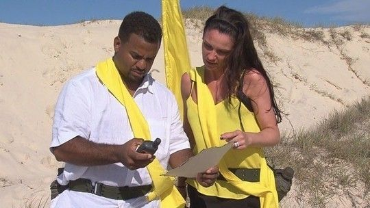 Alfonso Ribeiro and Lucy Pargeter on I'm A Celebrity... Get Me Out Of Here!