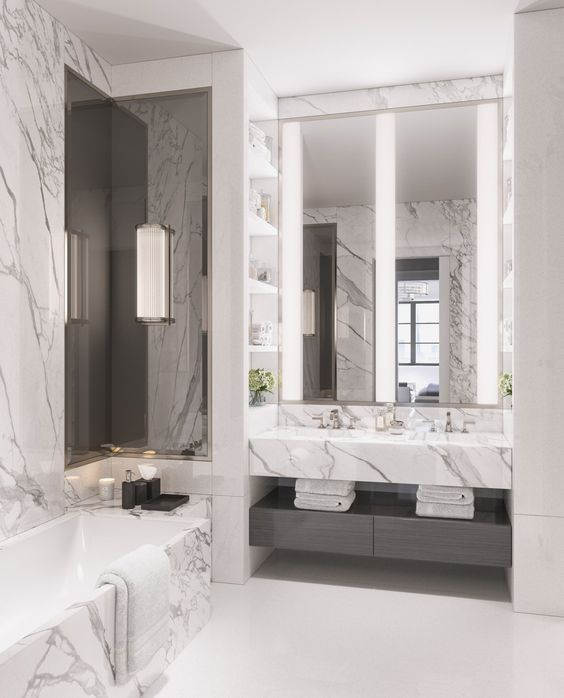 city apartments grey marble bathroom and new york city on 1000 ideas about college dorm bathroom on pinterest
