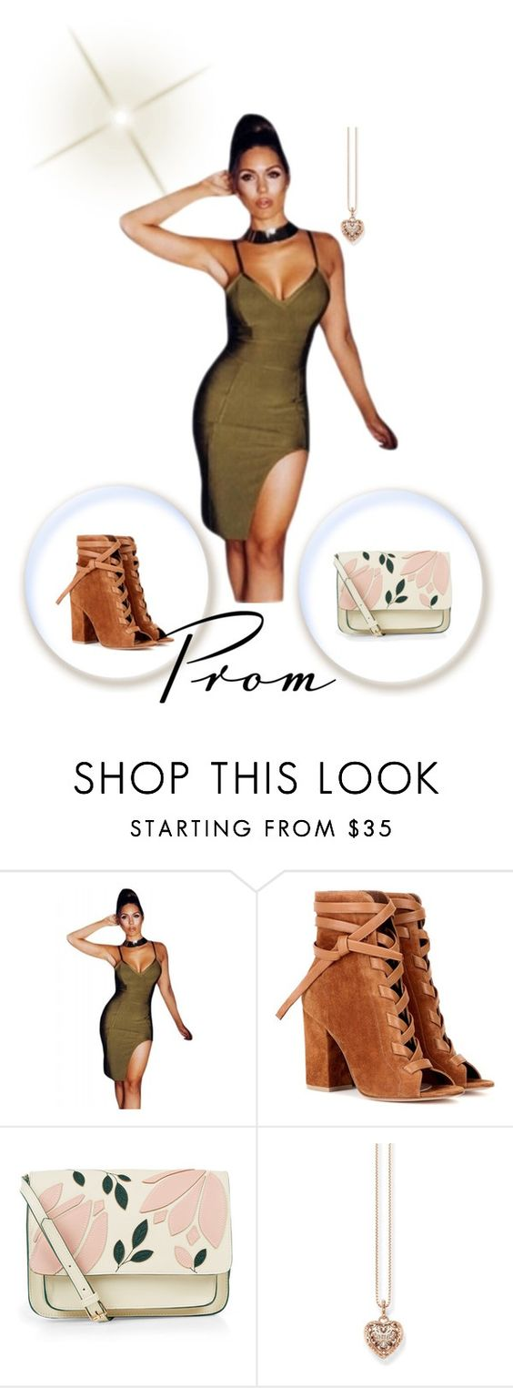 """""""Untitled#10545"""" by xiaophai ❤ liked on Polyvore featuring Gianvito Rossi, Accessorize and Thomas Sabo"""