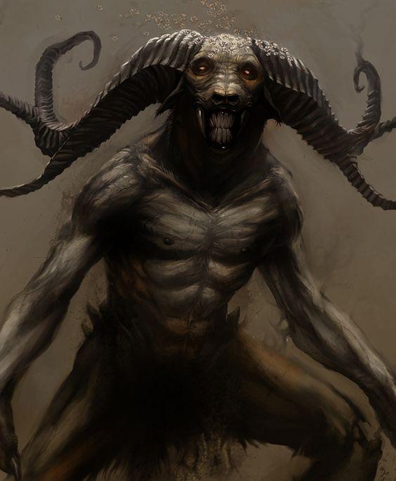 This rather Mythological demon creatures