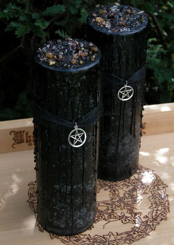 Witches Magick Alchemy Pillar 3x9 Wiccan Chang E 3 And