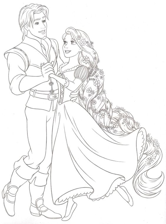 Tangled Coloring Sheetdefinitely About To Color This