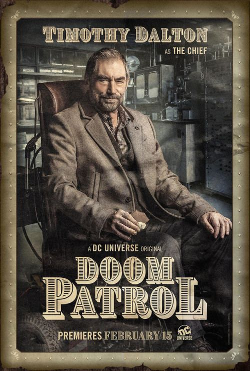 Doom Patrol The Chief Poster Doom Patrol Dc Universe Doom