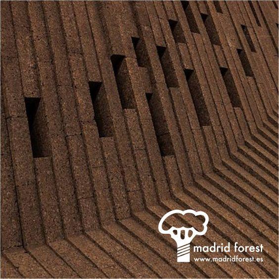 Revestimiento de corcho negro corcho suelos paredes - Revestimiento de corcho ...