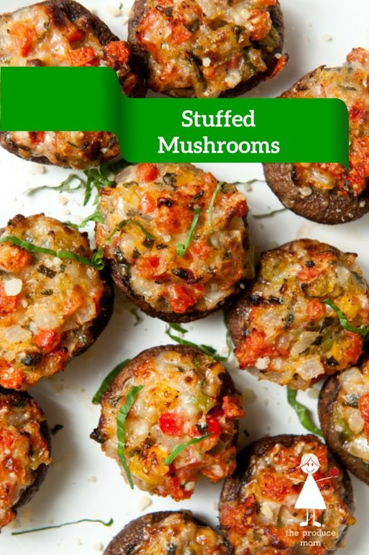 Stuffed Mushrooms | Recipe | The cheese, Appetizer recipes ...
