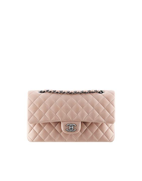 Klassische Tasche aus Lammleder - CHANEL