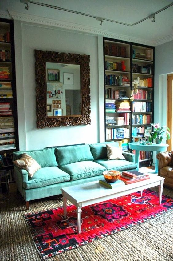 Street Scene Vintage: Home Decor Trends: Layered Rugs