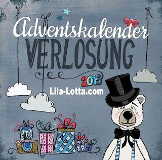 BIG BOOM BAM Verlosung 2015 ! Lila-Lotta Adventskalender - Türchen Nr. 16
