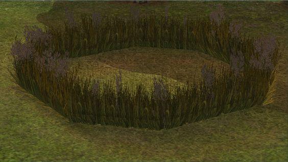 Grass Fence   Graszaun - Bau-Meshes von Ermelind - PatchworkSims2    Ermelind
