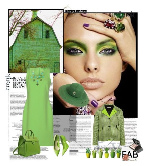 """evergreen"" by bodangela ❤ liked on Polyvore featuring moda, Carven, Moschino Cheap & Chic e Givenchy"