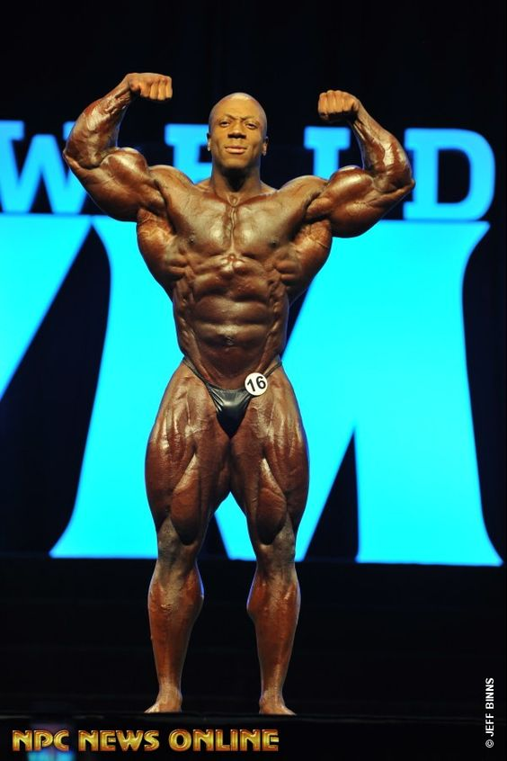 SHAWN RHODEN Men's Bodybulding overall 2nd 2016 IFBB Mr. Olympia