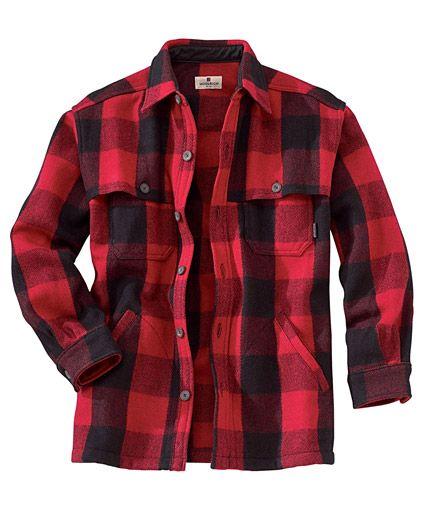 Men's Wool Stag Shirt