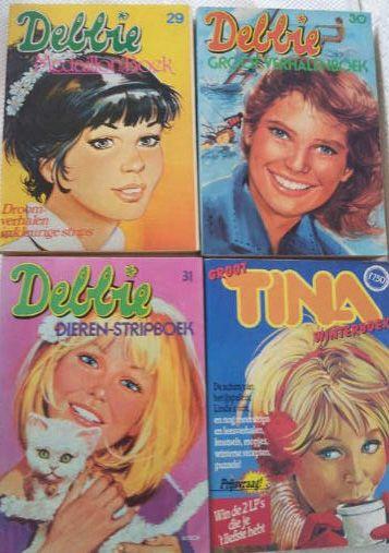 Debbie en Tina dikke stripboeken