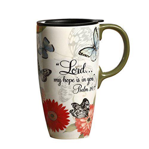 Topadorn 17 Oz Ceramic Coffee Mug Travel Cup With Handle Https Www Amazon Com Dp B073xd4ktg Ref Cm Sw R Pi Awdb T Mugs Ceramics Christian Gifts For Women