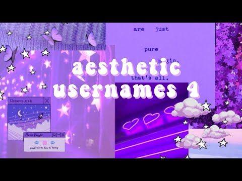 Aesthetic Usernames 4 Youtube Aesthetic Usernames Cool Usernames For Instagram Usernames For Instagram