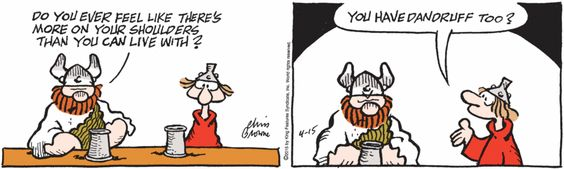 April 15, 2015 | Hagar the Horrible