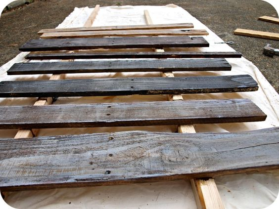 How to age wood with paint and stain | Simply Swider