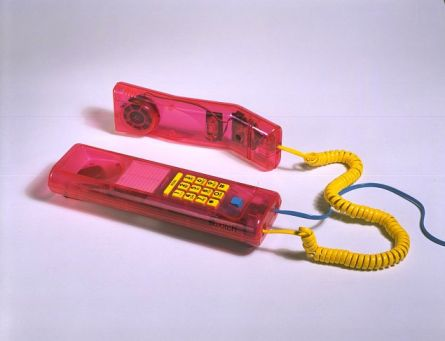 Pink Jelly XK200, Swatch, 1990 ( Oh I wanted one of these SOOOOO bad ! But mom wasn't to set on buying a 7 year old a phone ! )
