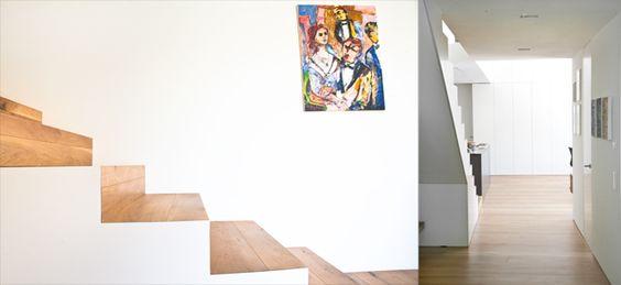 Zimmerei Höfle - Treppendetail