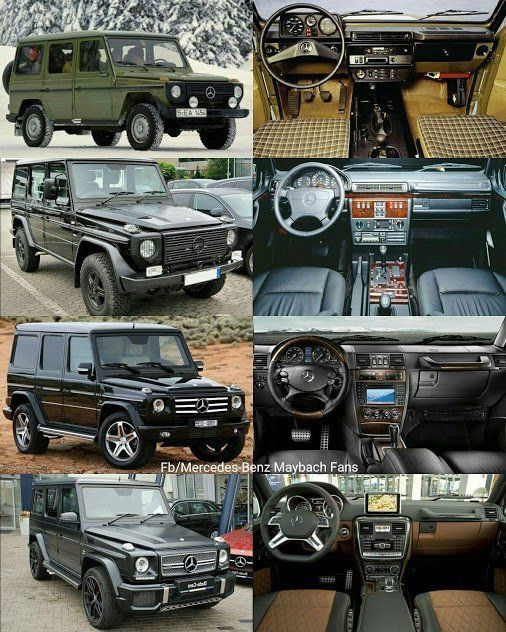 How Do You Like This Transformationtuesday Talk About Luxury Evolution Mercedes Today Pin Mercedes Suv Mercedes G Wagon Mercedes Benz Autos