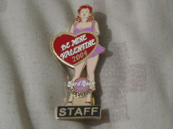 A Junkee Shoppe Junk Market Stop: HARD ROCK Hotel Las Vegas 04 Staff Valentine Pinback ... For Sale Click Link Here To View >>>> http://ajunkeeshoppe.blogspot.com/2015/12/hard-rock-hotel-las-vegas-04-staff.html