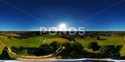 Airaugsburgerdegreepanorama Pendelleuchte Bismarckturm Pendelleucht Dekoratives Transparent Adpanorama Augsburger Augsburg Stock360 Augsburg Golf Courses