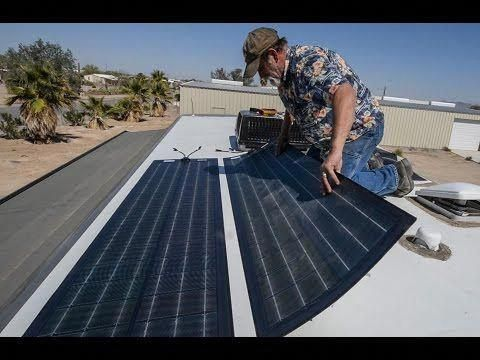 We Review The Best Rv Solar Panel Kits To Install On A Motorhome What Size To Get Installation Ideas Best Bat In 2020 Rv Solar Panels Best Solar Panels Solar Panels