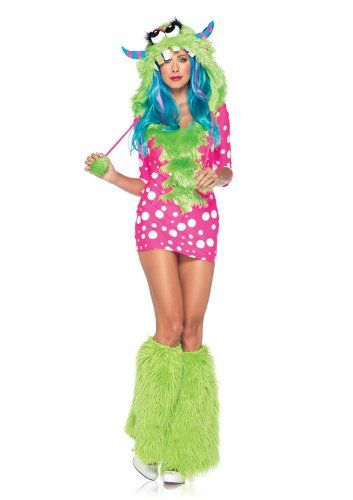 Leg Avenue 83933 - Melody Monster Kostüm, Größe M/L, rosa: Amazon.de: Spielzeug