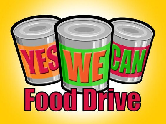 Yes We Can Food Drive Sept 28