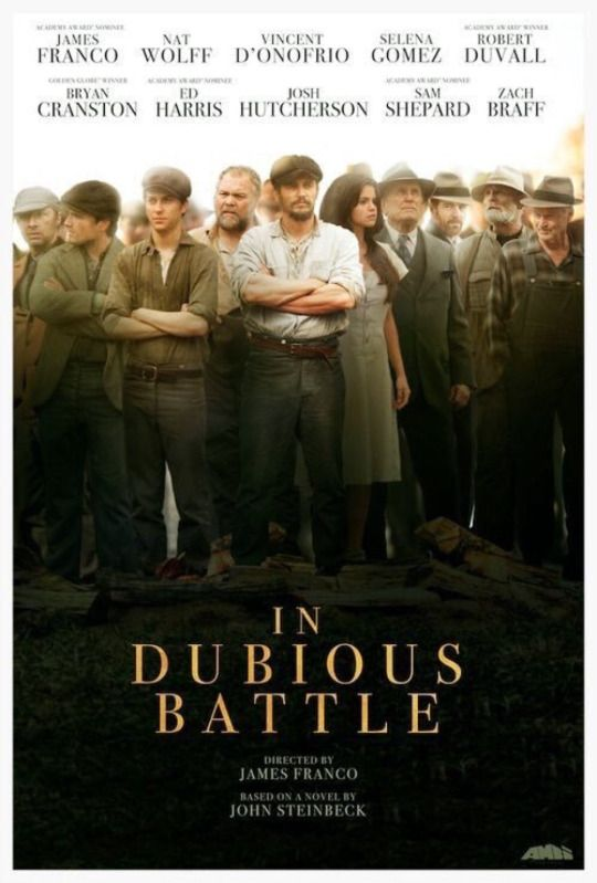 Josh Hutcherson - NEW - Official poster for 'In Dubious Battle'!