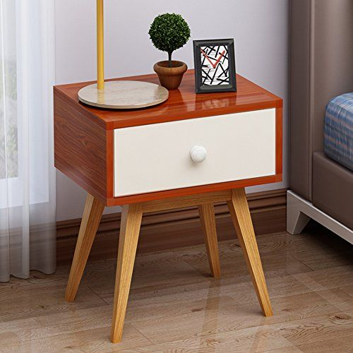 Ewygfrfvqas Drawer Tall Nightstand Simple Modern Assembled Bedside