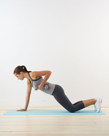 For best results, do 12 to 15 reps of each exercise, and 2 to 3 sets every time. Switch sides so your muscles develop evenly, and take it slow -- count about six seconds per move -- to really get results. When you find that the basic moves are no longer as challenging, take your routine to the next level with our upgrades.  Read more at Marthastewartweddings.com: Wedding Fitness Routines -- Martha Stewart Weddings