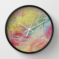 Wall Clocks by Pondering Seeds Of Hope | Society6