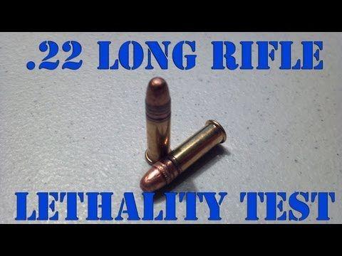 .22 ammo penetration depth