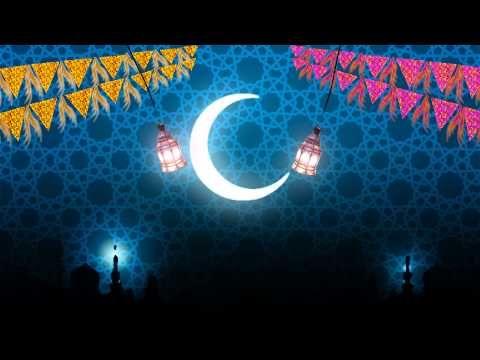تصميم خلفيات فيديو خلفية رمضانية مثال Youtube Ramadan Abstract Eid Mubarak