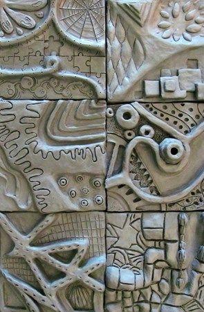 High ability/fast pace class development idea. Zentangle Inspired Relief Sculpture - Conway High School Art Project