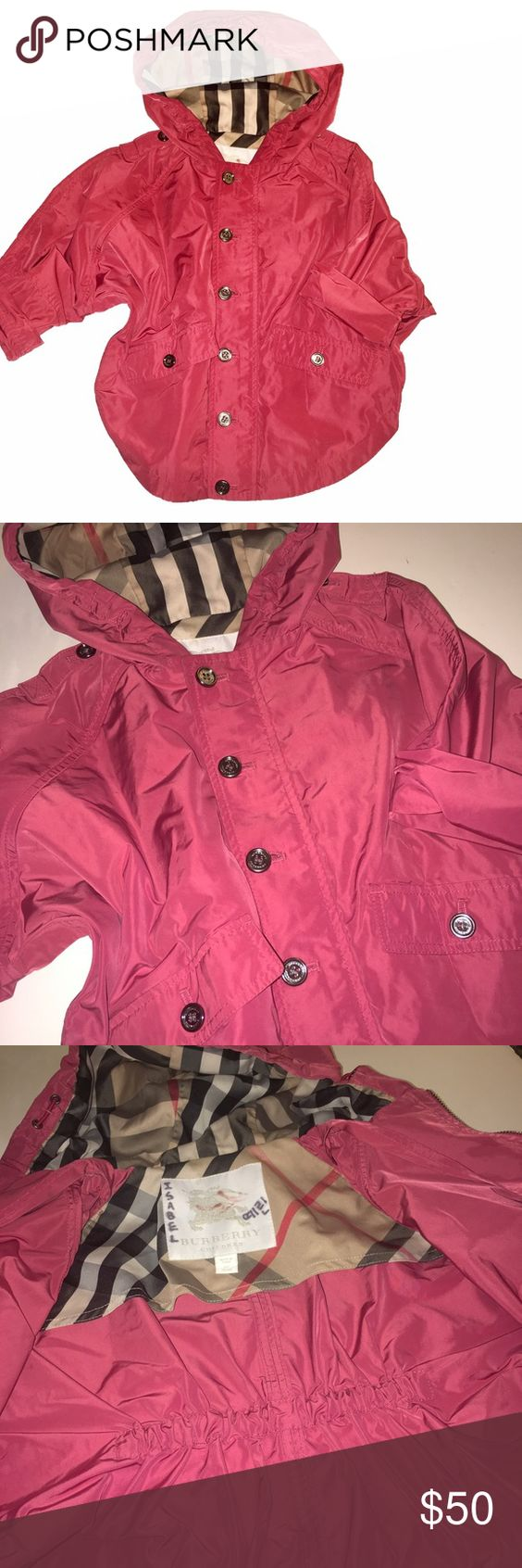 Girls Burberry 2T Rain Jacket ☔️