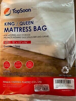 Advertisement New Multi Purpose Cover Mattress Bag Bed Bug Dust Mite Waterproof King Queen 1pc In 2020 King Queen Moving And Storage Mattress