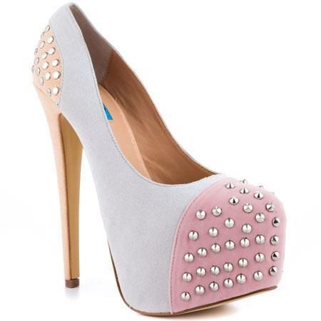 Studded heels, Studs and Sweet on Pinterest