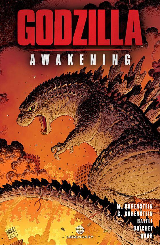 Legendary revela capa de Godzilla - Awakening