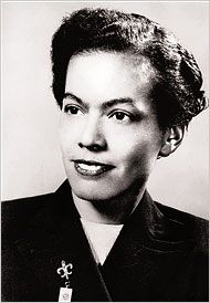 """Pauline Anna """"Pauli"""" Murray: graduated first in her Howard Law school class (the only female in her class); first woman to be awarded a J.S.D. degree from Yale University, 1965;  1st African American female Episcopal priest, 1977;"""