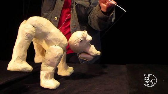 Marionetas en 4 patas. Taller organizado por Tlacuache Títeres.
