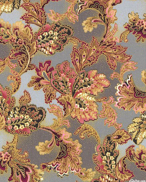 Mary May - Palatial Botanics - Dove Gray/Gold