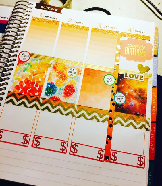 First week of #october done! #erincondrenplanner #plannercommunity #EClifeplanner #ecplannerlove #ecplannerjunkie #ecplanners #newaddiction #chickydoddle #alexstudio by _pumpkin_planning
