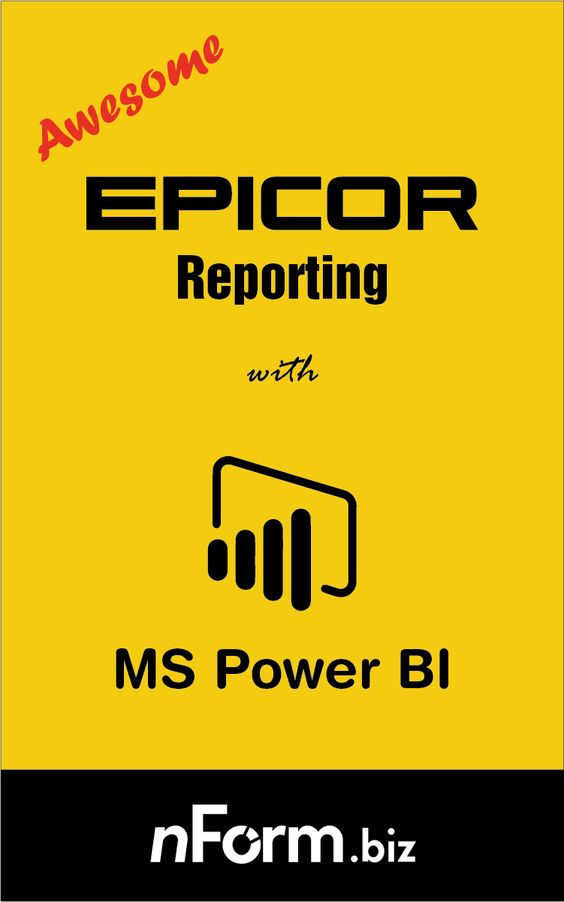 Awesome Epicor Reports in Power BI - a detailed article which - datapower resume