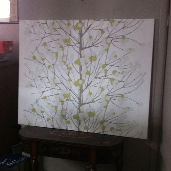 Diy Fabric Wall Art Pinterest : Diy wall art marimekko fabric wood frame and a staple