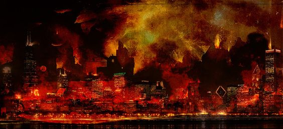 Doomsday Chicago by jaw-art.deviantart.com on @deviantART