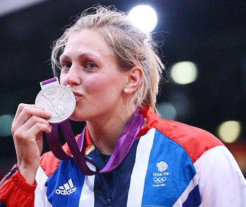 Team GB Medals 2012  13. Gemma Gibbons - SILVER  (Judo: Women's -78kg)