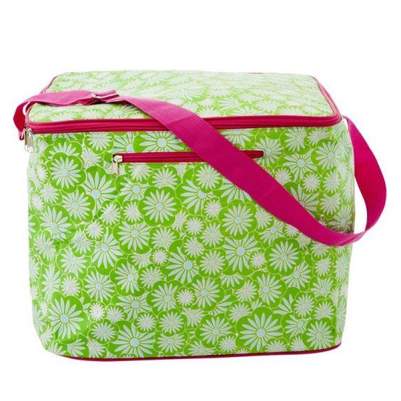 Kühletasche Large Cooler Bag, Casablanca Print green - Rice Denmark