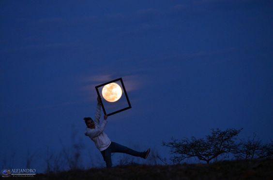 Yo Con la Luna :3